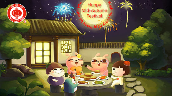 Happy Mid-Autumn Festival, Wishing every happiness be with you
