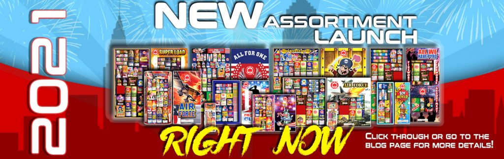 2021 Red Lantern Fireworks New Assortment Pack Launch Now