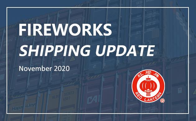 Last Update Information of Fireworks Transportation